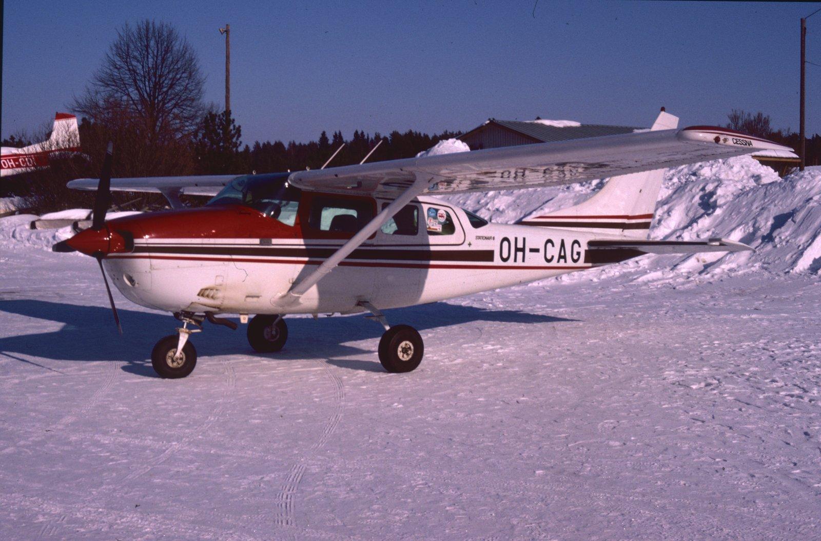Cessna U206G Stationair II OH-CAG EFKU 1987-03