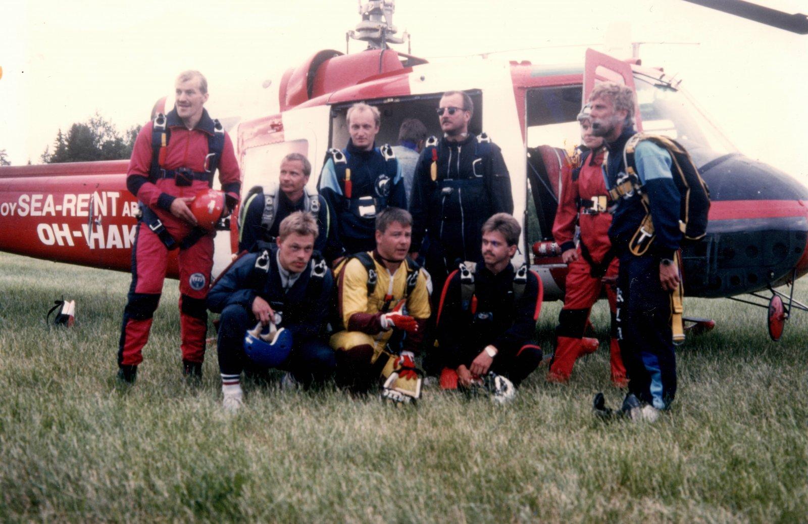Agusta-Bell 204B, OH-HAK EFPK 1989-07-01