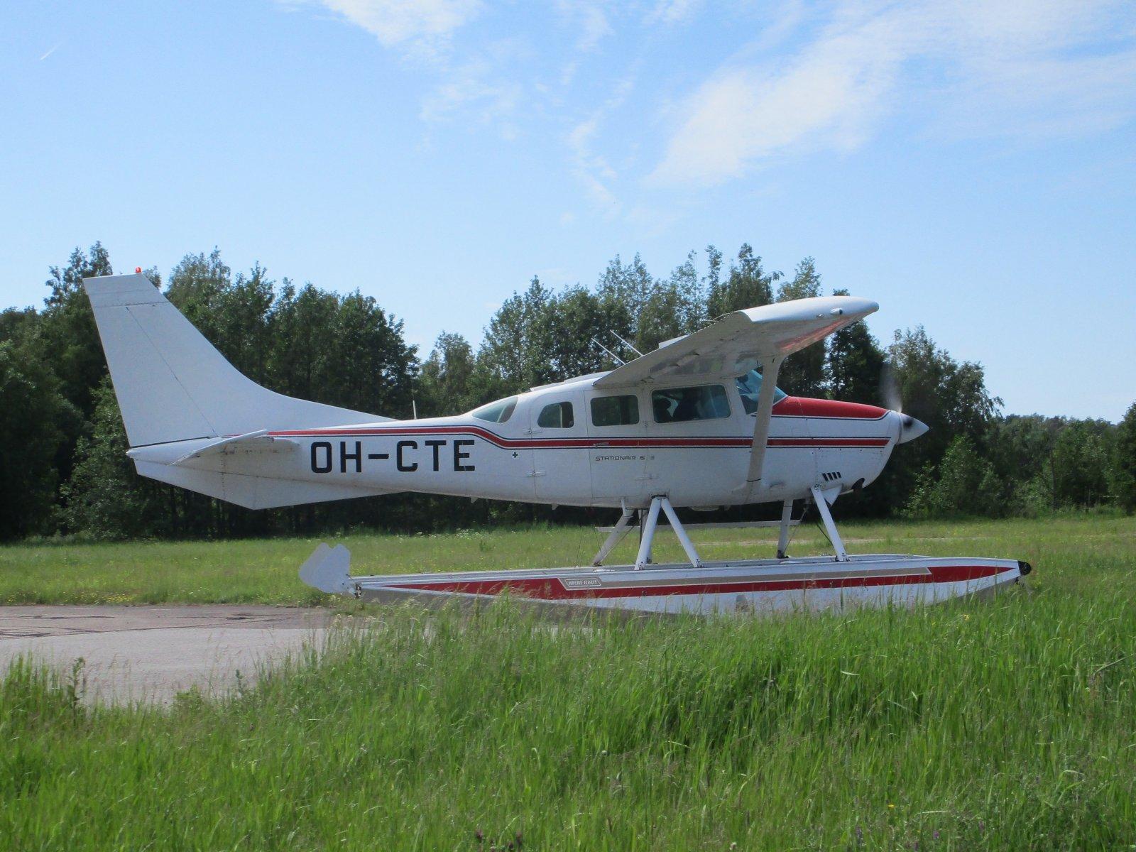 Cessna TU206G Stationair 6 II OH-CTE EFHN 2019-06-16