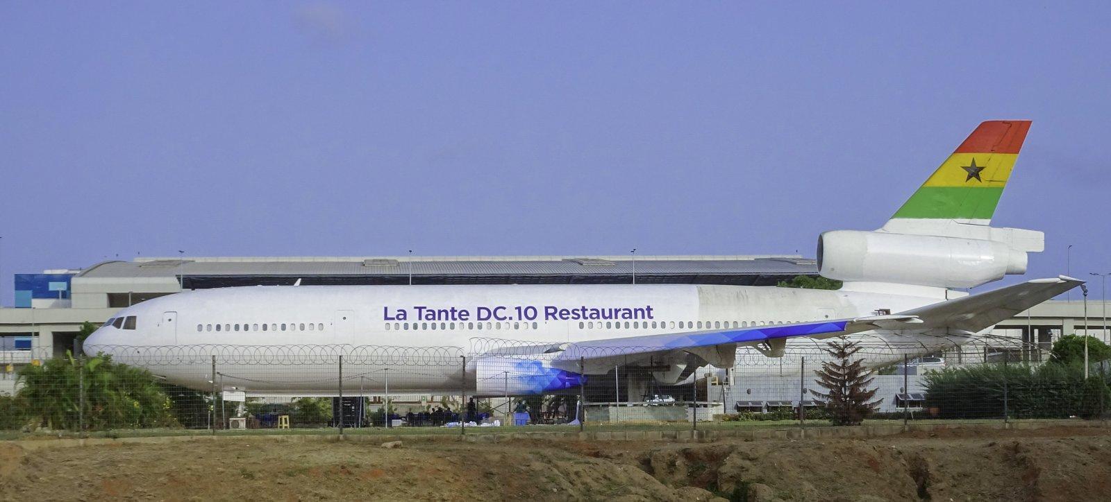 Ghana Airways McDonnell Douglas DC-10-30 9G-ANB (entinen SAS:n OY-KDC)