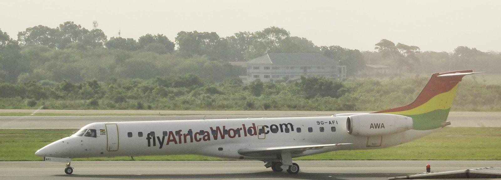 Africa World Airlines Embraer ERJ-145LI 9G-AFI