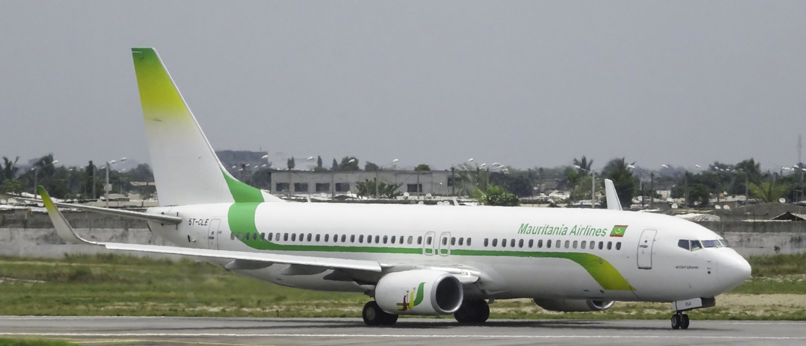Mauritania Airlines Boeing 737-88V 5T-CLE (5T=Mauritania)