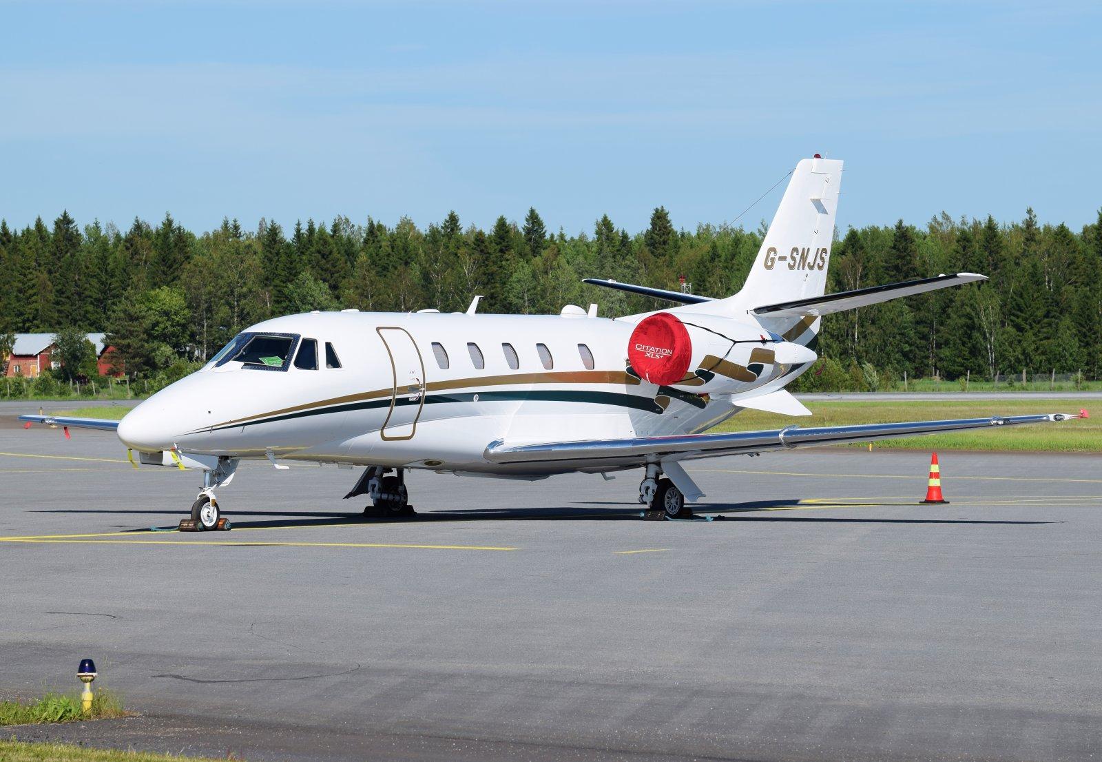 G-SNJS - Cessna 560XL Citation Excel XLS+ - Gama Aviation - 18.6.2019