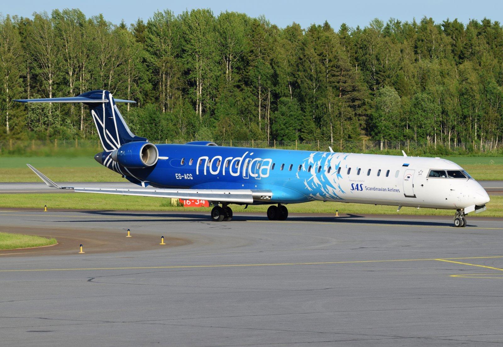 ES-ACG - Bombardier CRJ-900LR - Nordica - 18.6.2019