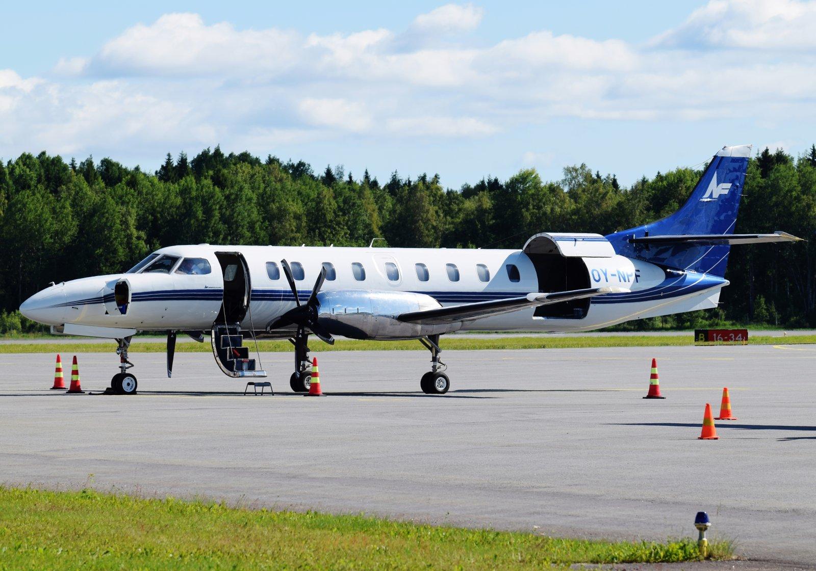 OY-NPF - Fairchild Swearingen SA.227DC Metro 23 - North Flying - 28.6.2019