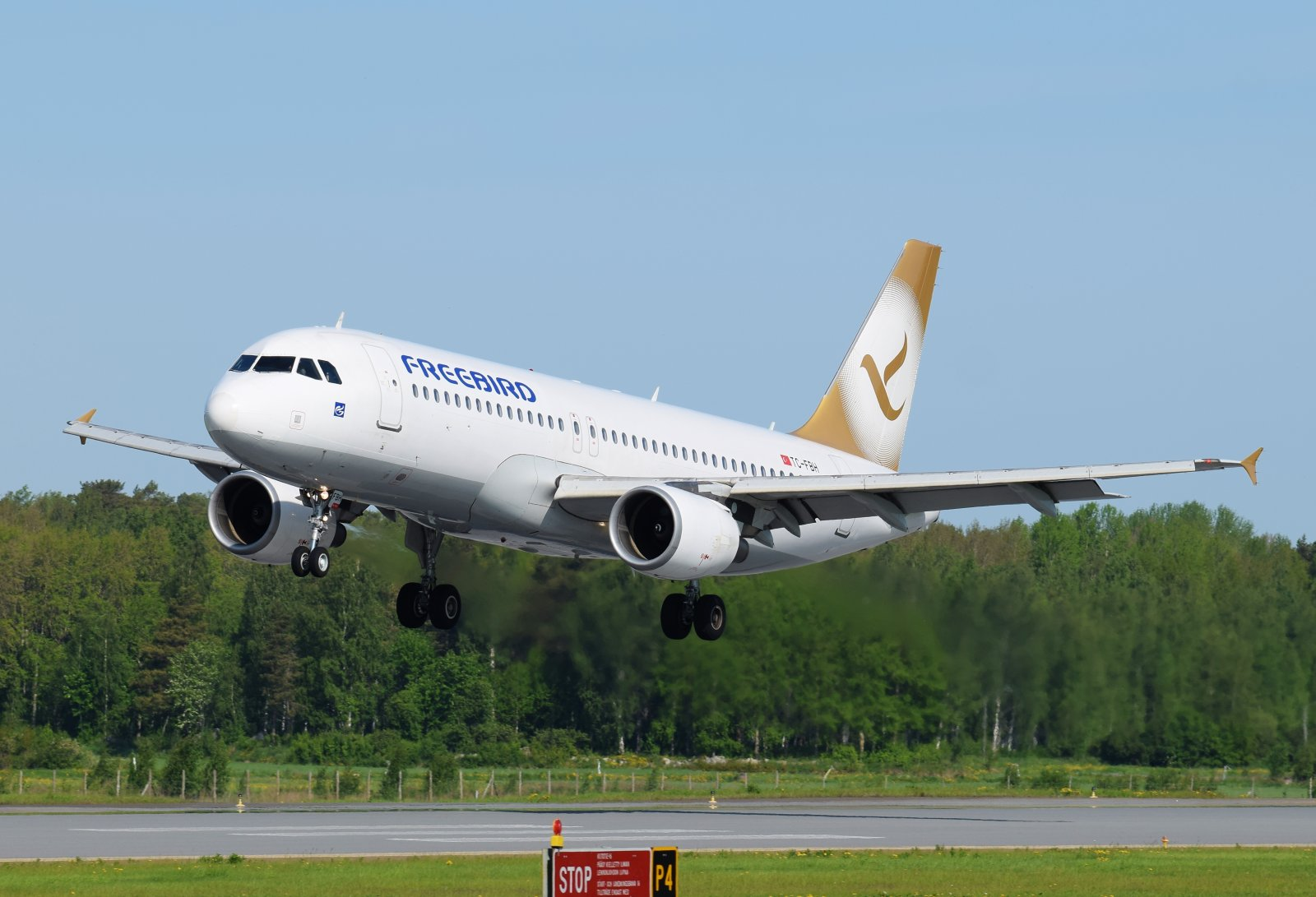 TC-FBH - Airbus A320-214 - Freebird Airlines - 5.6.2019
