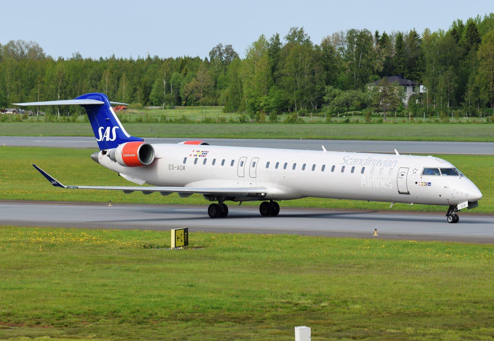 ES-ACM - Bombardier CRJ-900LR - Nordica (SAS Scandinavian Airlines) - 5.6.2019