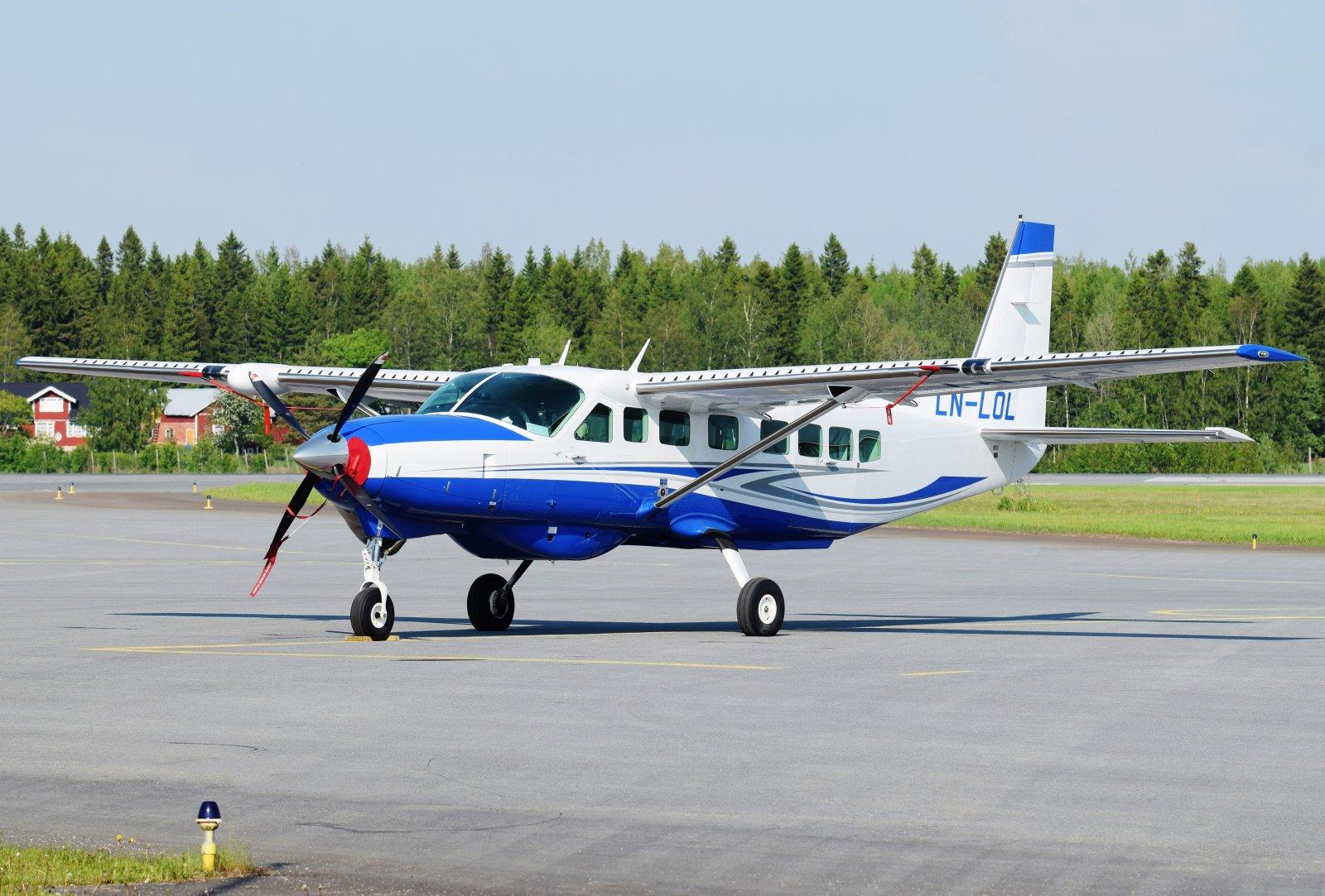 LN-LOL - Cessna 208B Grand Caravan EX - Blom Geomatics - 6.6.2019