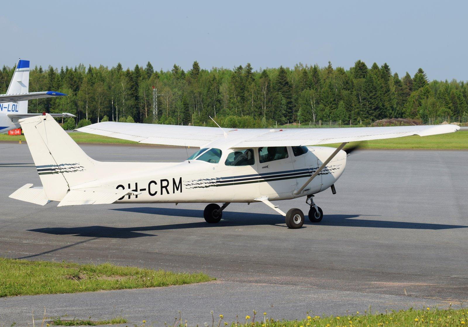 OH-CRM - Cessna 172P Skyhawk II - Suomen Ilmailuopisto - 6.6.2019