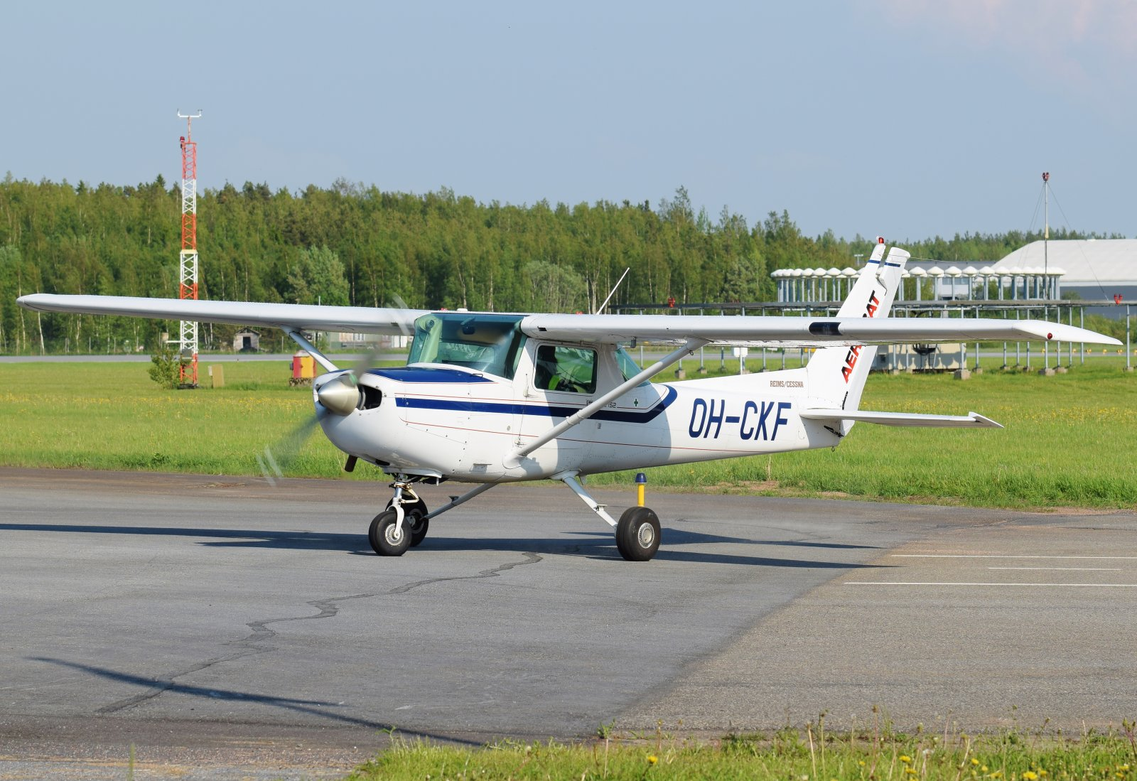 OH-CKF - Reims-Cessna FA152 Aerobat - Suomen Ilmailuopisto - 6.6.2019