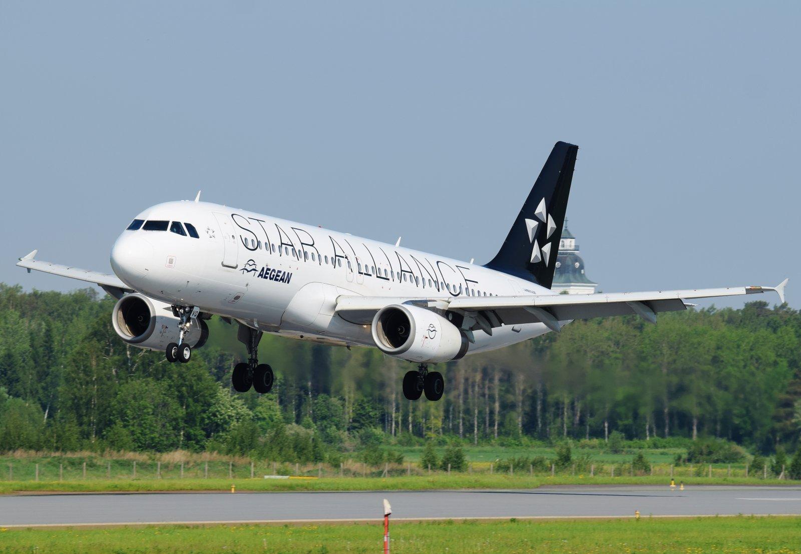 SX-DVQ - Airbus A320-232 - Aegean Airlines - 7.6.2019