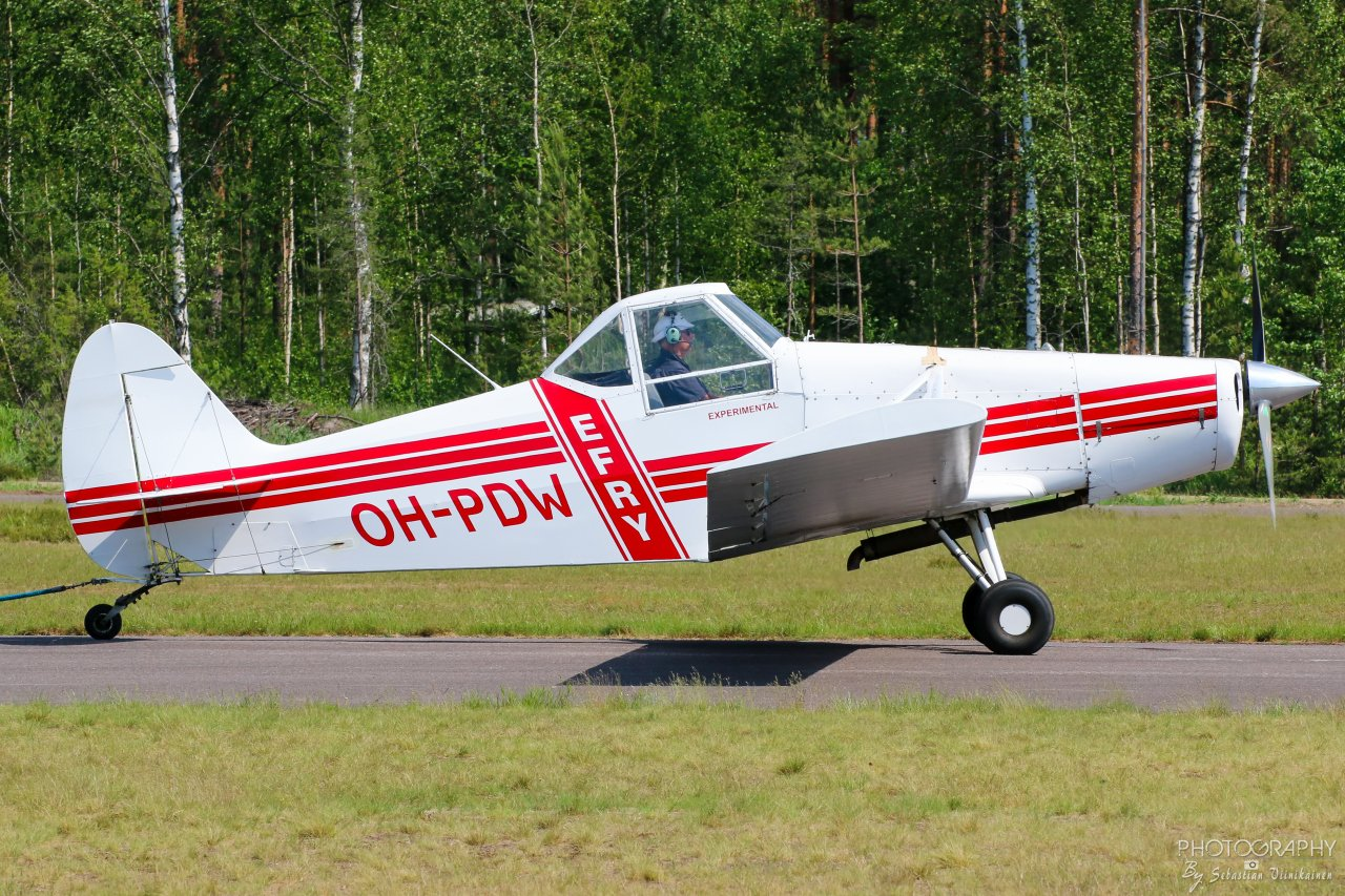 OH-PDW Piper PA-25-235 Pawnee B, 08.06.2019