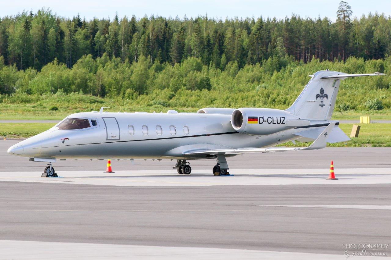 D-CLUZ FAI Rent-a-jet Bombardier Learjet 60XR, 12.06.2019