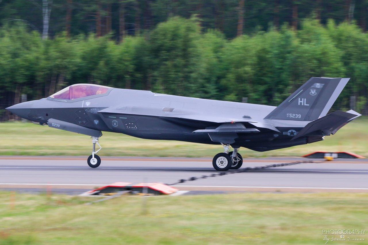 17-5239 USAF Lockheed Martin F-35A Lightning II, 17.06.2019