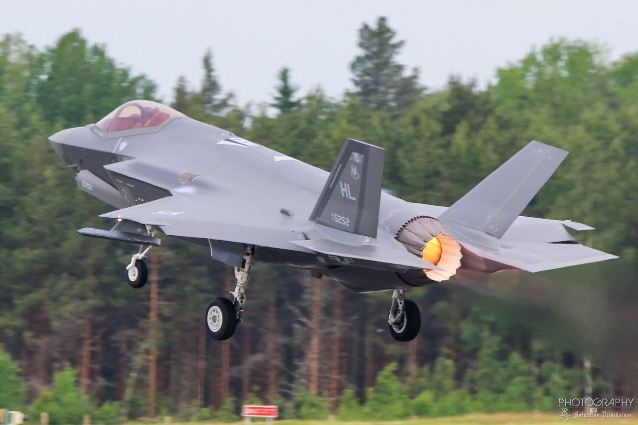 17-5252 USAF Lockheed Martin F-35A Lightning II, 17.06.2019