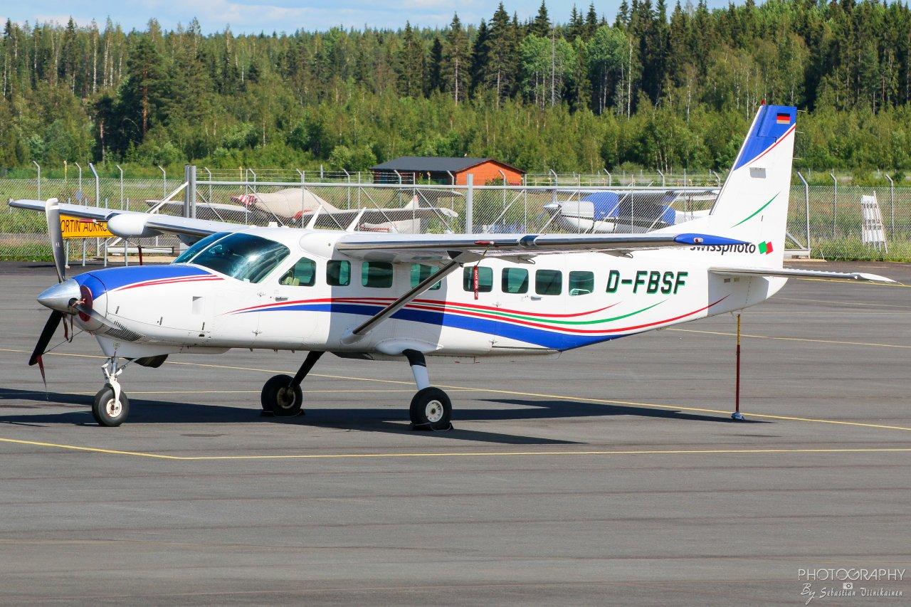 D-FBSF BSF Swissphoto Cessna 208B Gran Caravan, 23.06.2019
