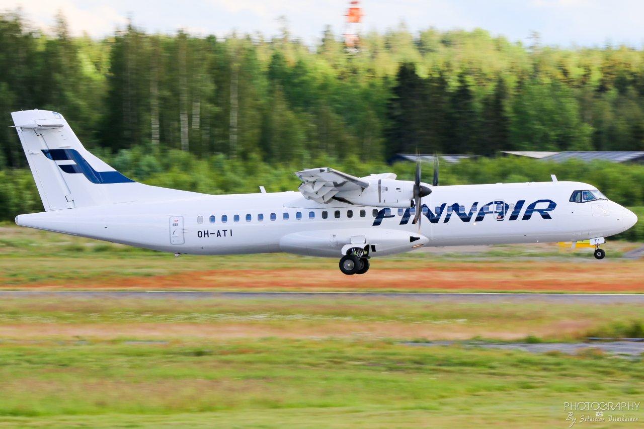 OH-ATI Finnair ATR 72-500, 23.06.2019