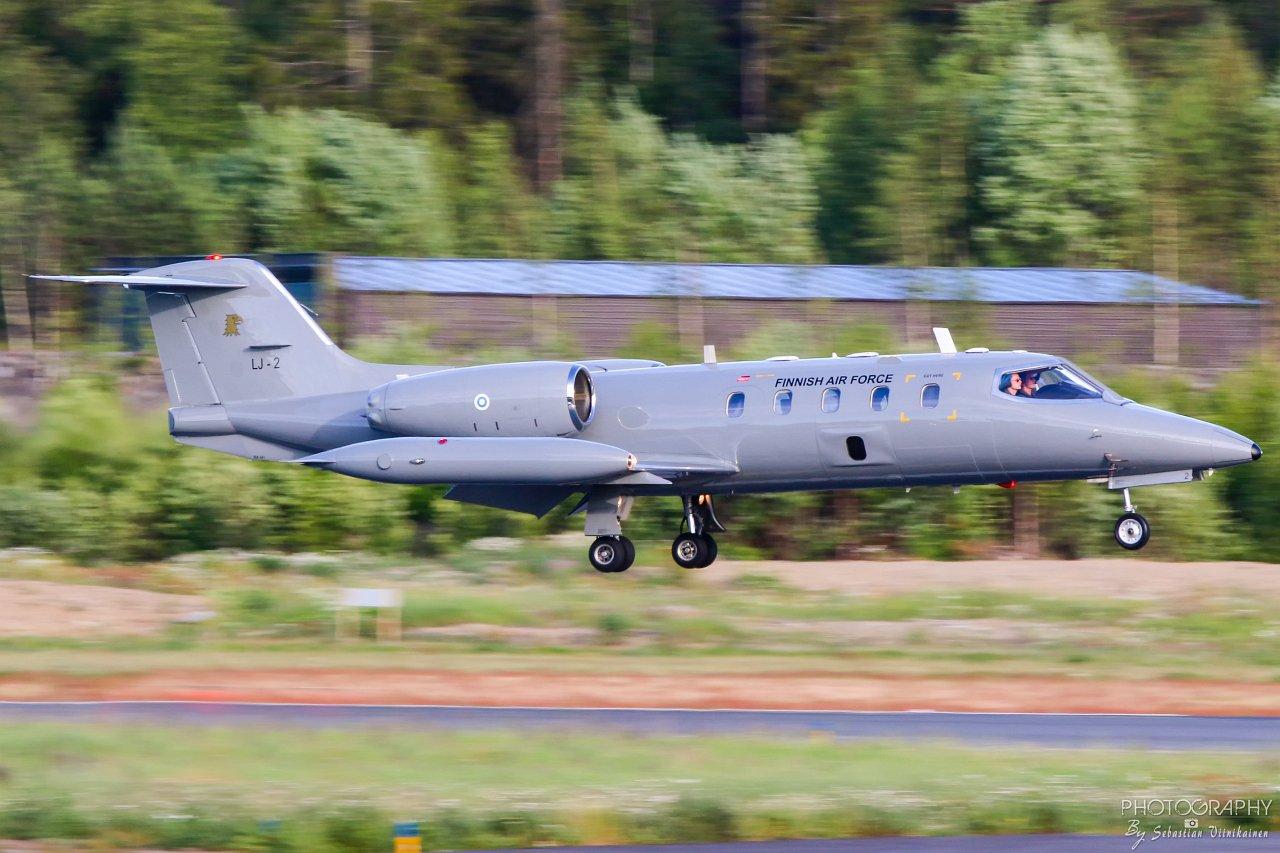 LJ-2 Suomen Ilmavoimat Bombardier Learjet 35A/S, 24.06.2019