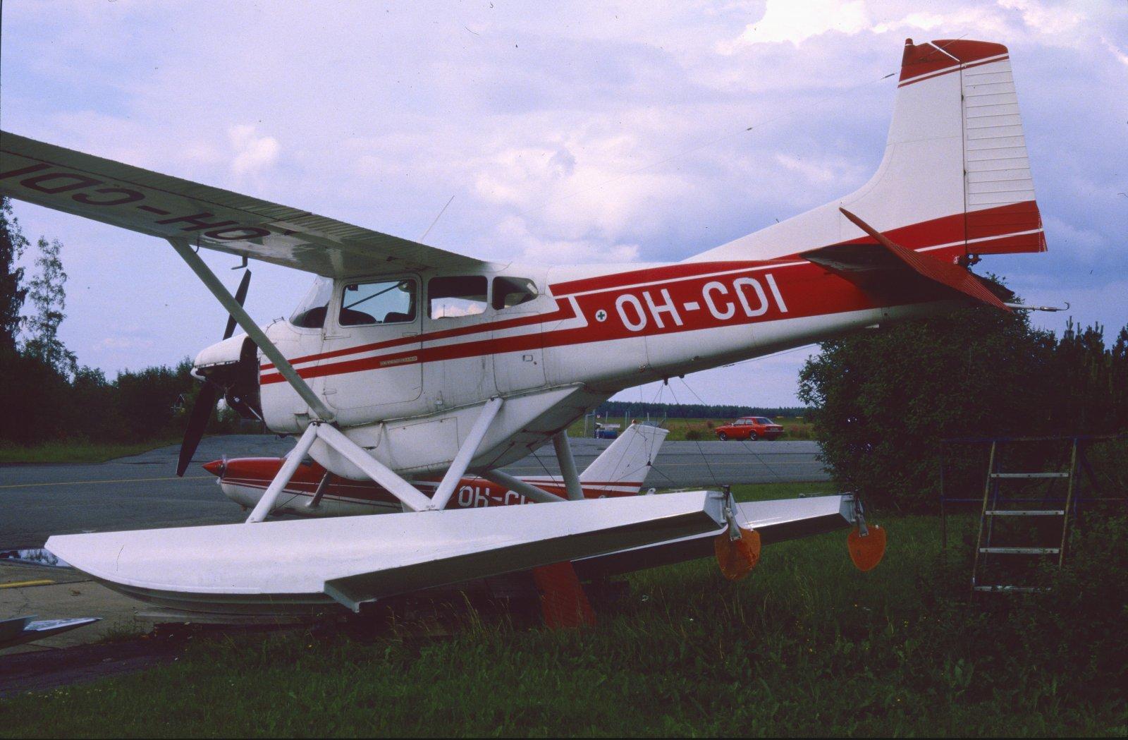 Cessna A185E Skywagon OH-CDI EFKU 1984