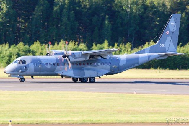 022 Puolan Ilmavoimat CASA C-295M