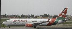 Kenya Airways Boeing 737-8Q8 5Y-KYE