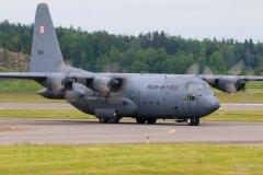 1501 Puolan Ilmavoimat Lockheed C-130E Hercules, 14.6.2019