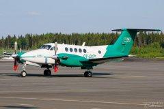 OY-CKP COWI Aerial Survey Beechcraft B200 Super King Air