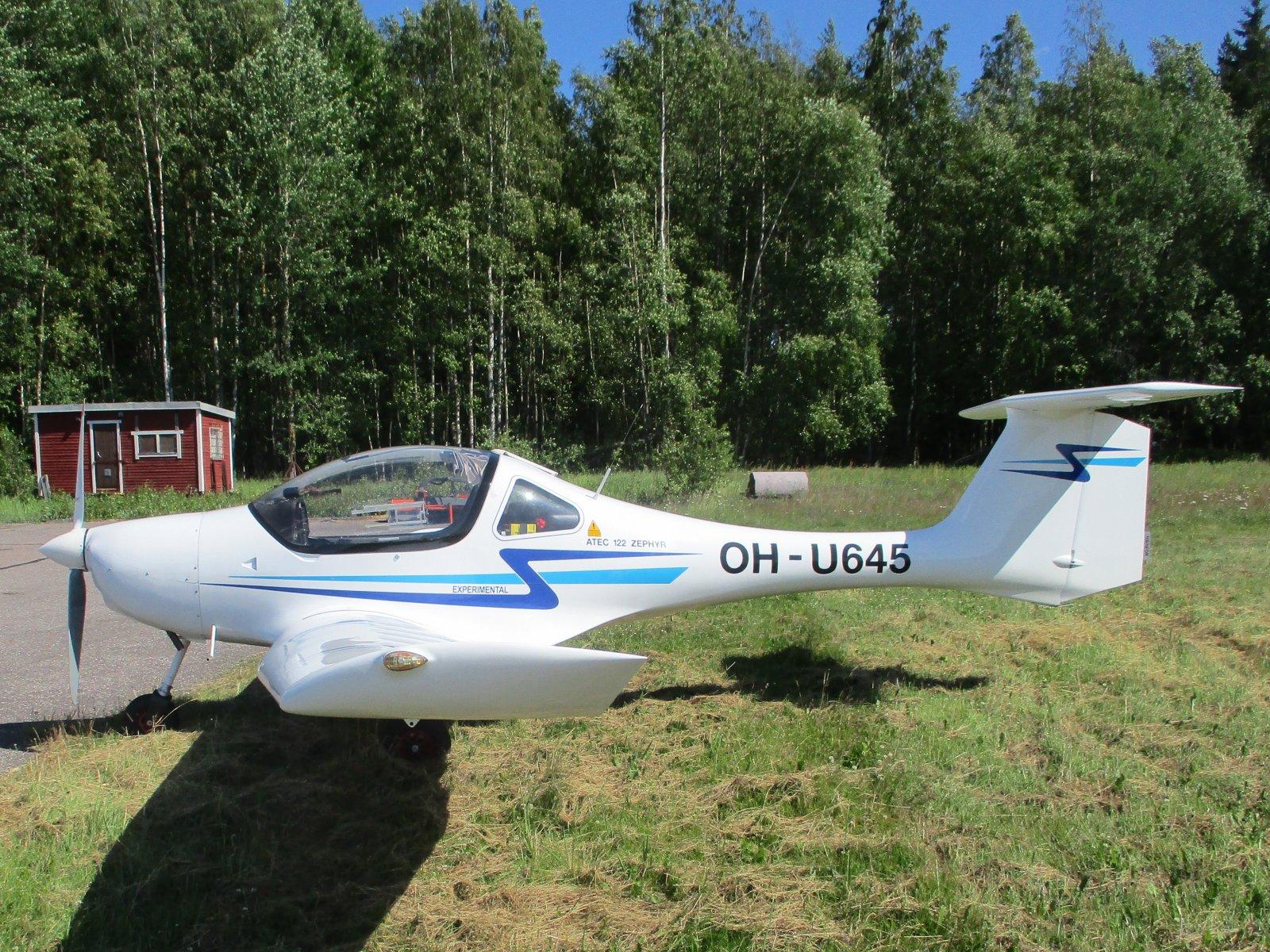 Atec 122 Zephyr OH-U645 EFHN 2019-06-28