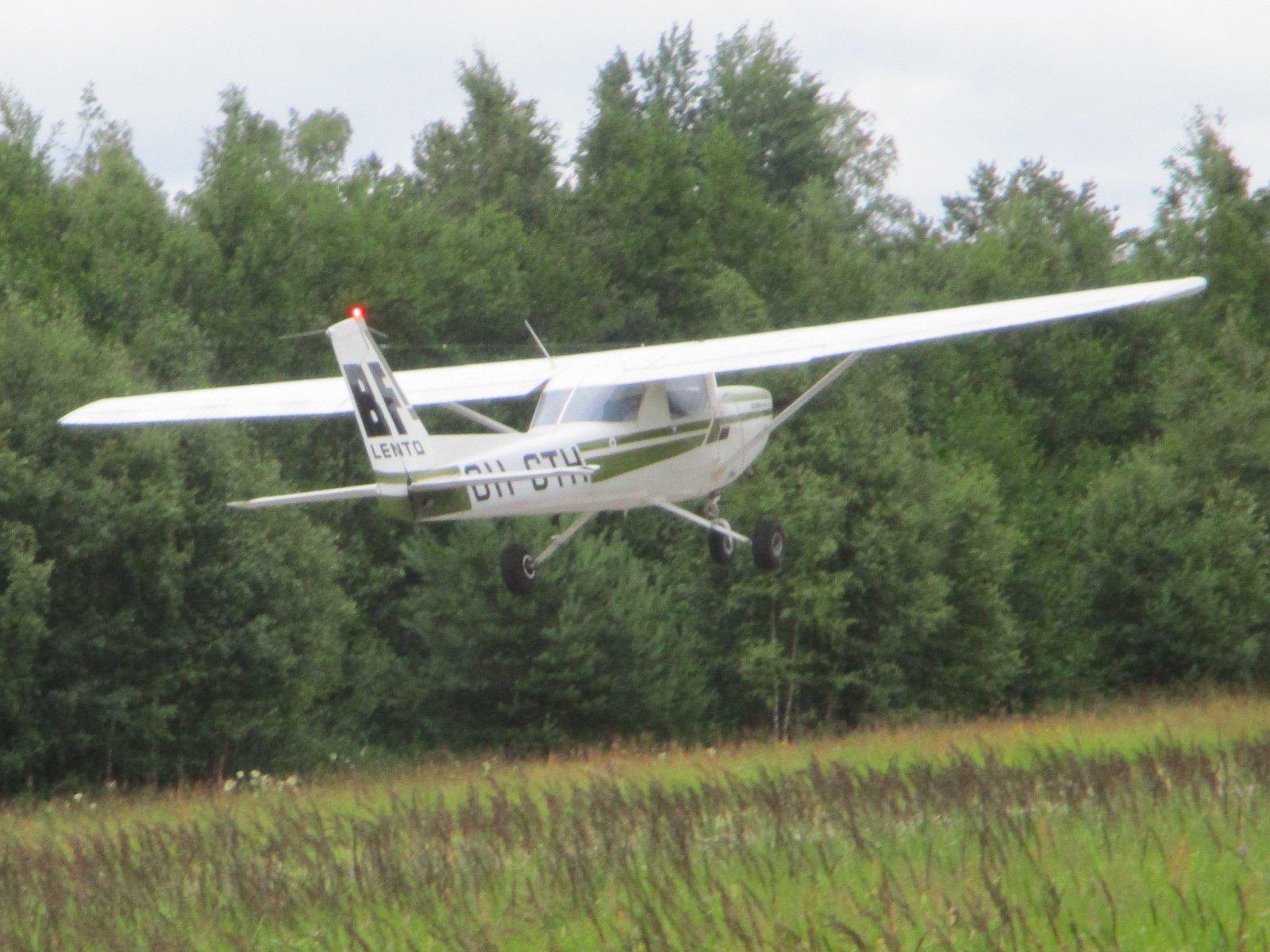 Cessna 152 II OH-CTH EFHN 2019-07-09