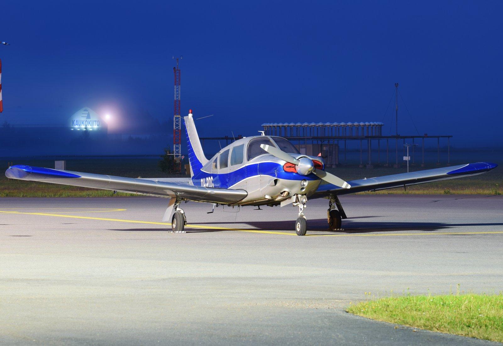 OH-PDG - Piper PA-28R-200 Arrow II - 24.7.2019