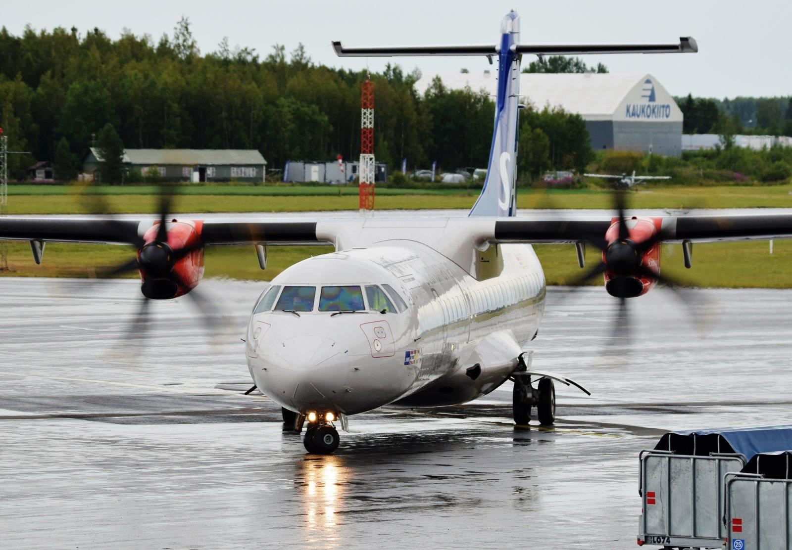 ES-ATG - ATR 72-600 - Nordica (SAS Scandinavian Airlines) - 15.7.2019
