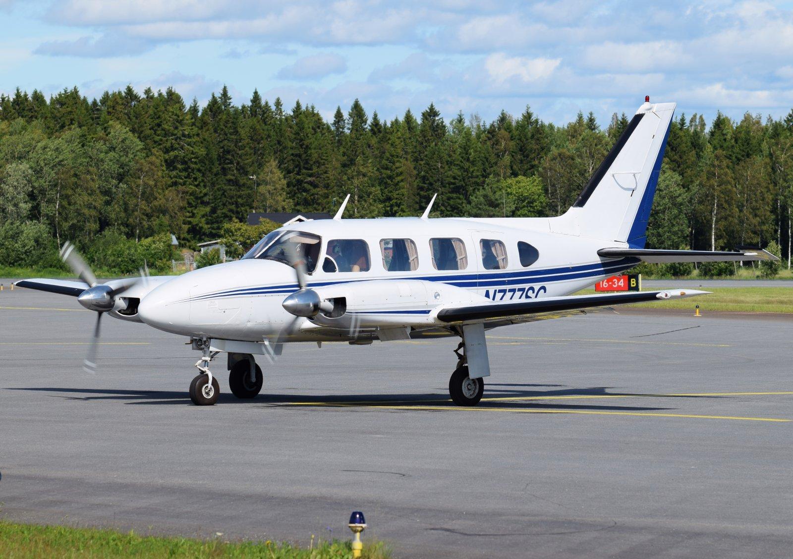 N777SC - Piper PA-31-310 Navajo - 1.7.2019