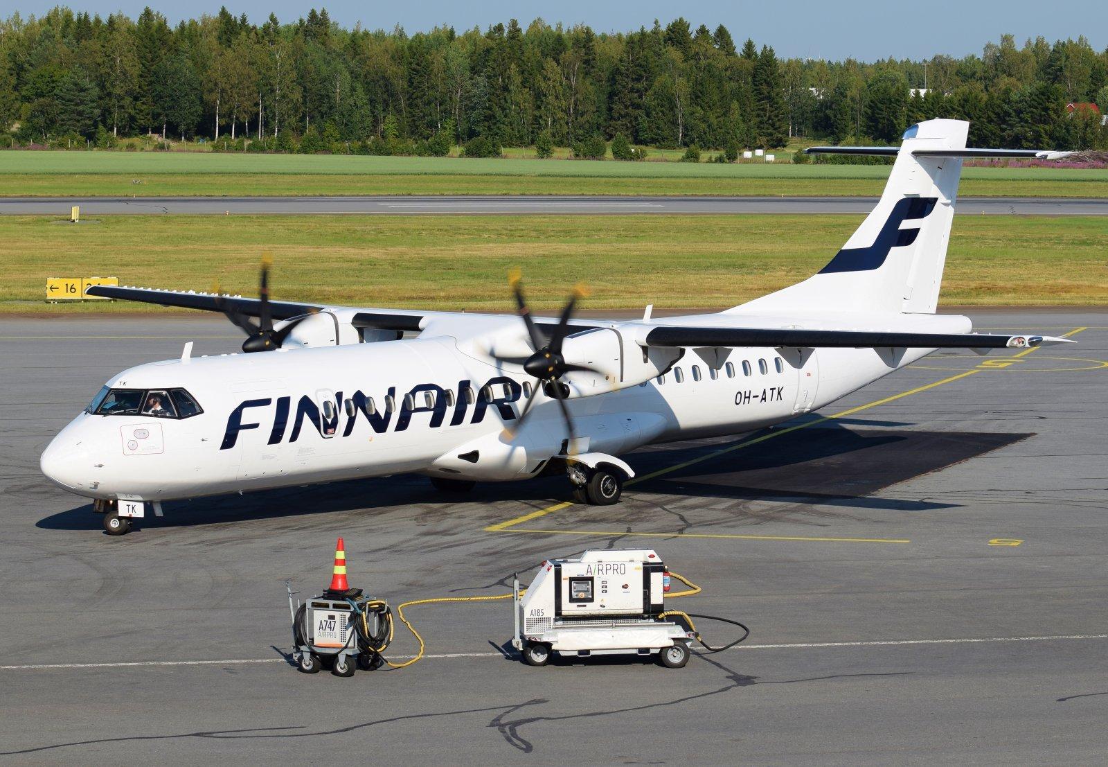 OH-ATK - ATR 72-500 - Finnair - 27.7.2019