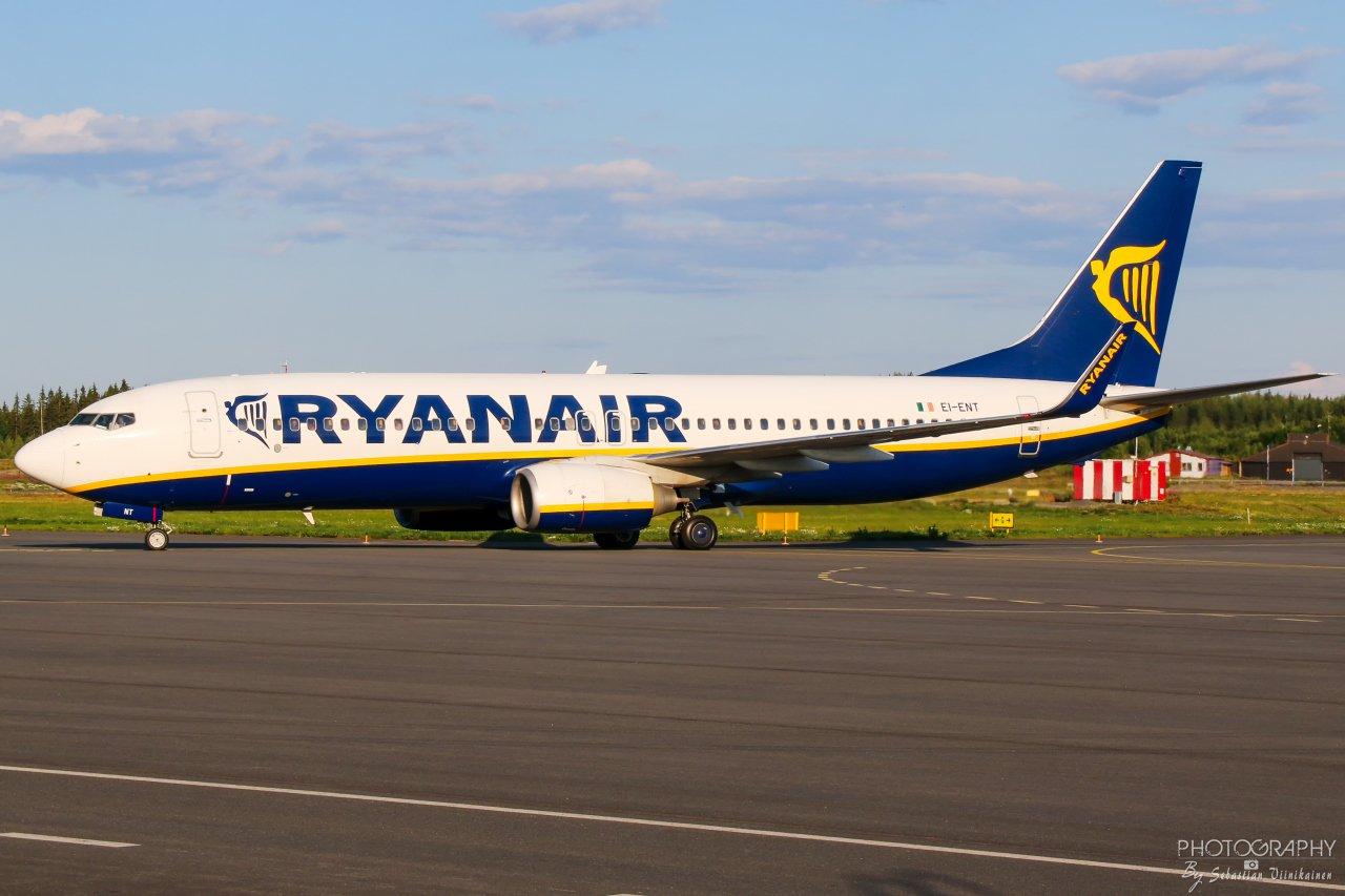 EI-ENT Ryanair B737-800, 21.7.2019