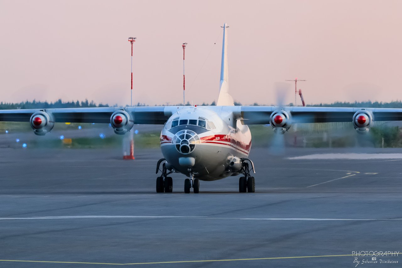 UR-CAK Ukraine Air Alliance Antonov AN-12BK, 22.7.2019