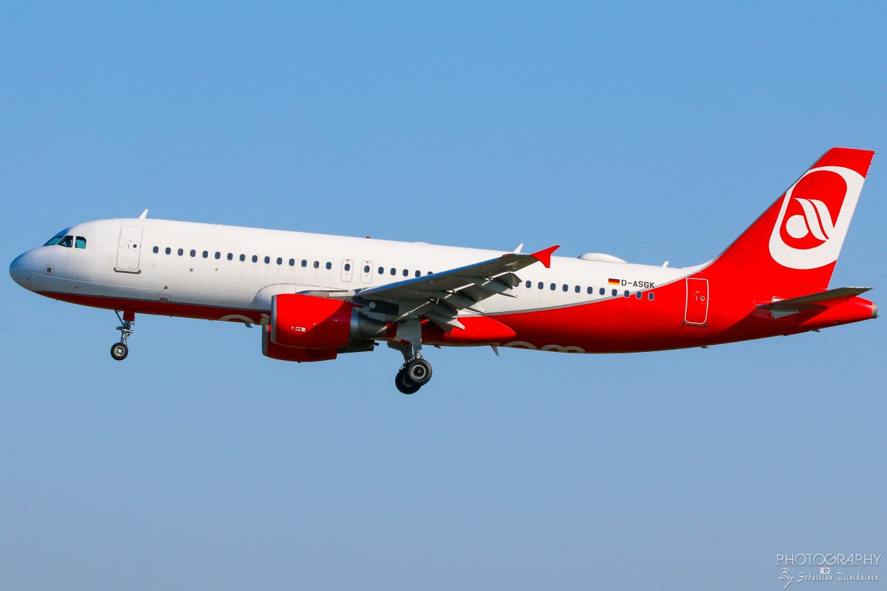 D-ASGK Sundair Airbus A320-200, 24.07.2019
