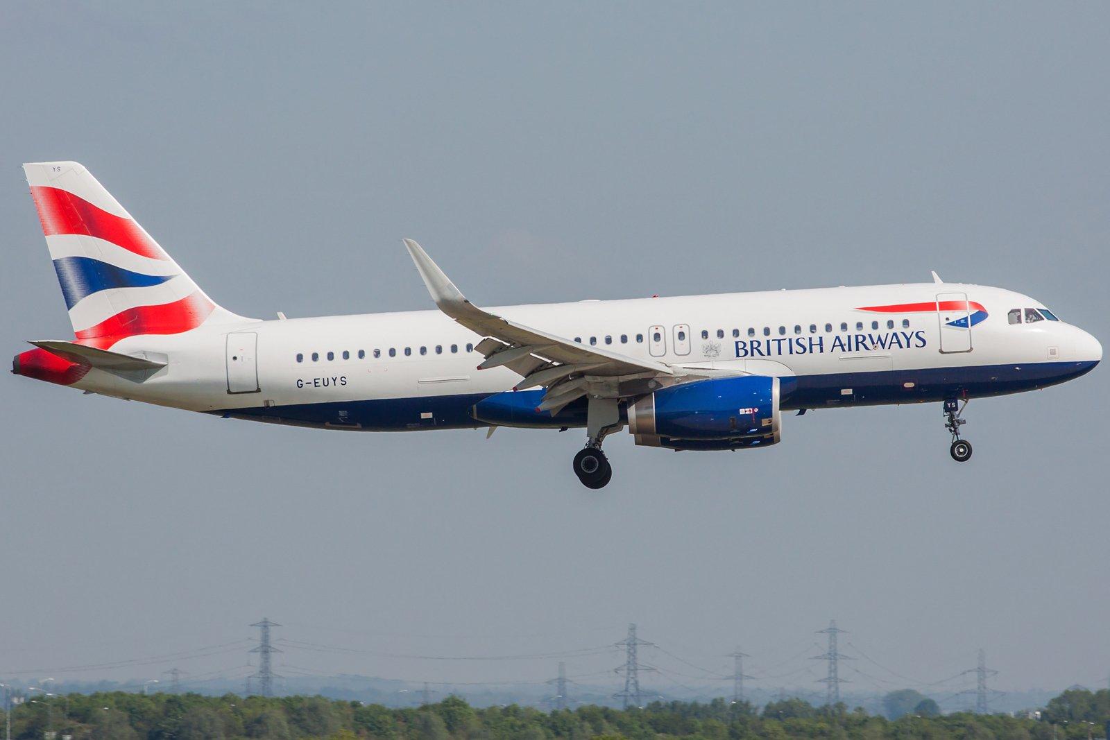 British Airways Airbus A320-232(WL)