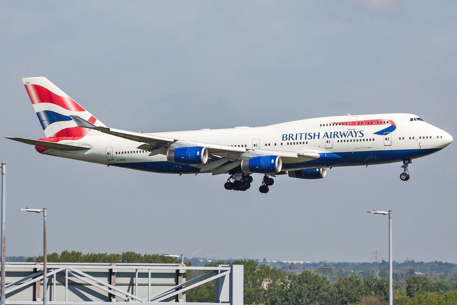 British Airways Boeing 747-436 G-BYGG