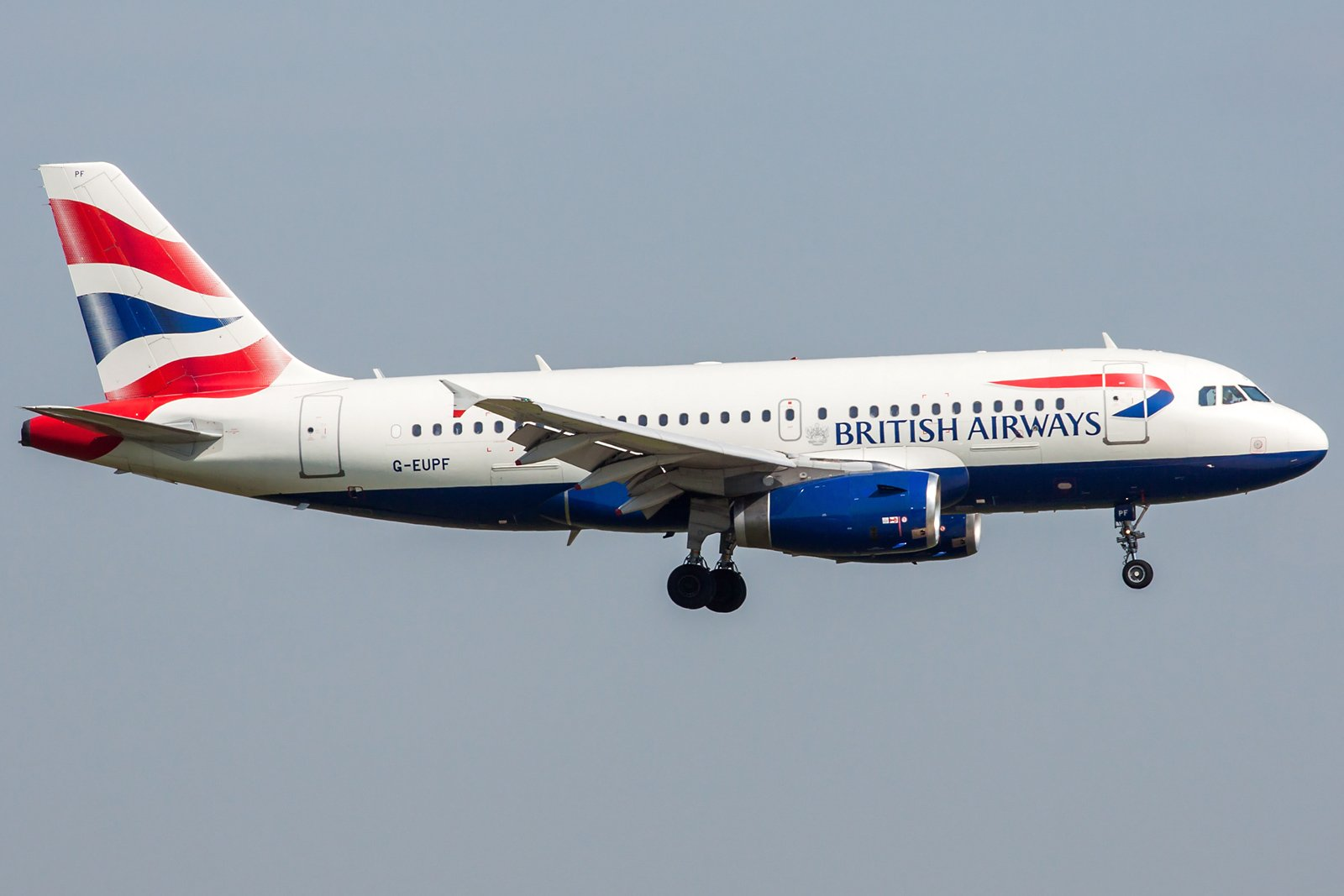 British Airways Airbus A319-131 G-EUPF