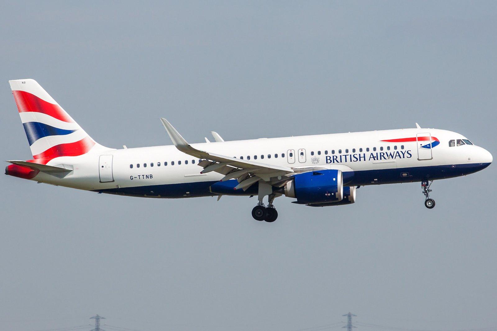 British Airways Airbus A320-251N G-TTNB