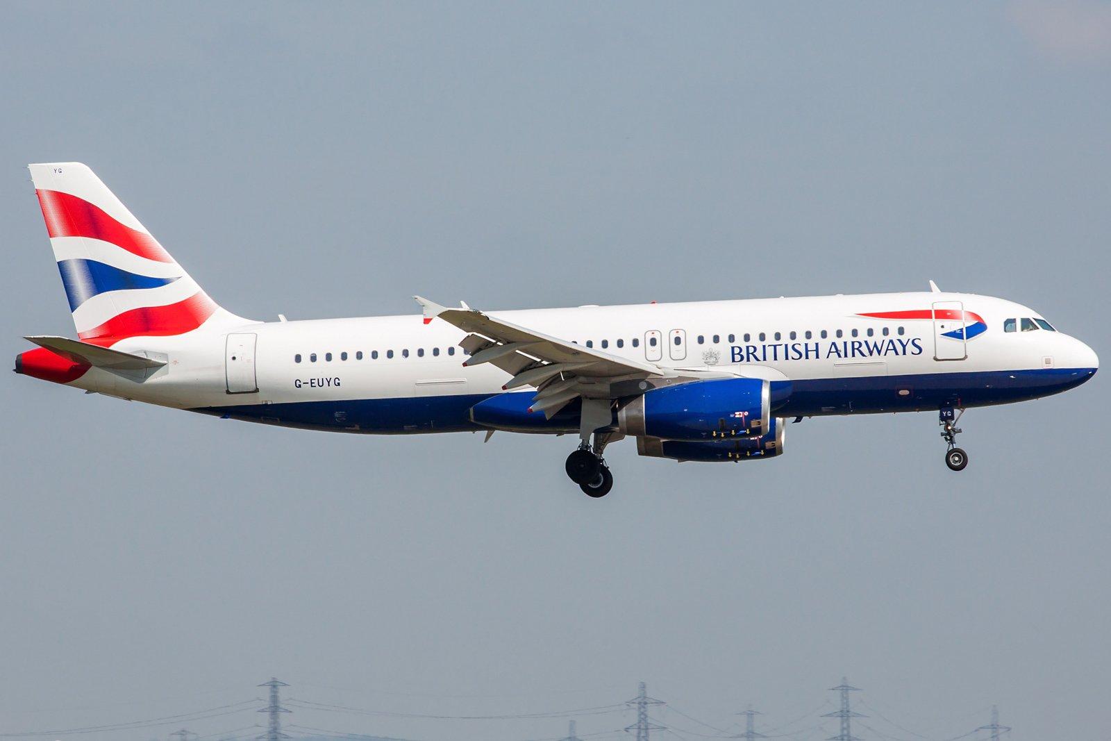 British Airways Airbus A320-232 G-EUYG