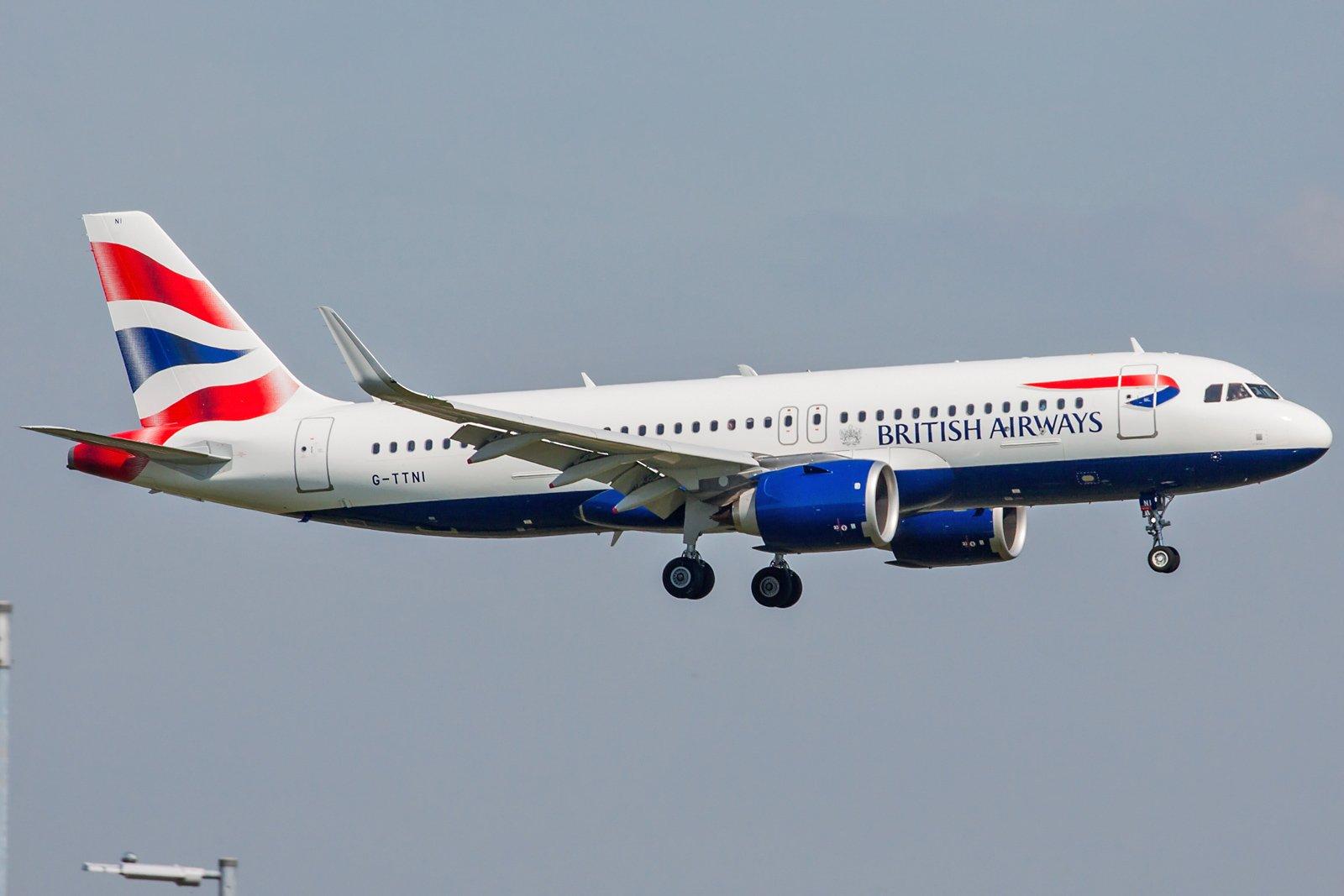 British Airways Airbus A320-251N G-TTNI