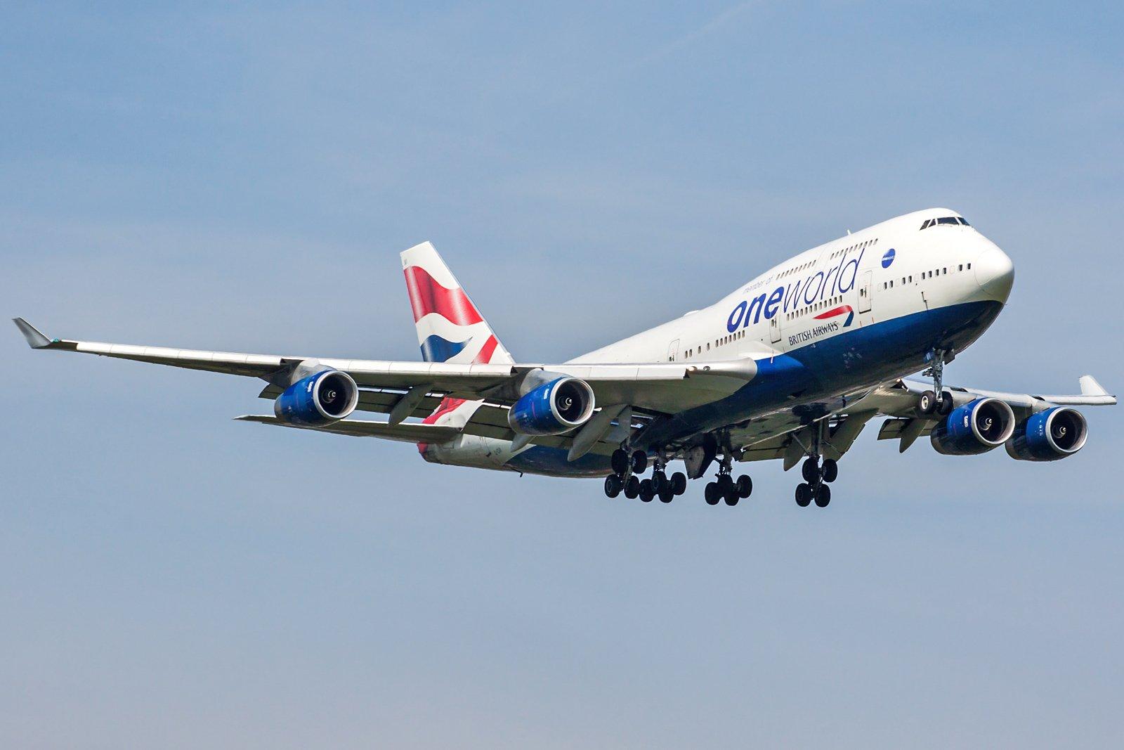 British Airways Boeing 747-436 G-CIVI