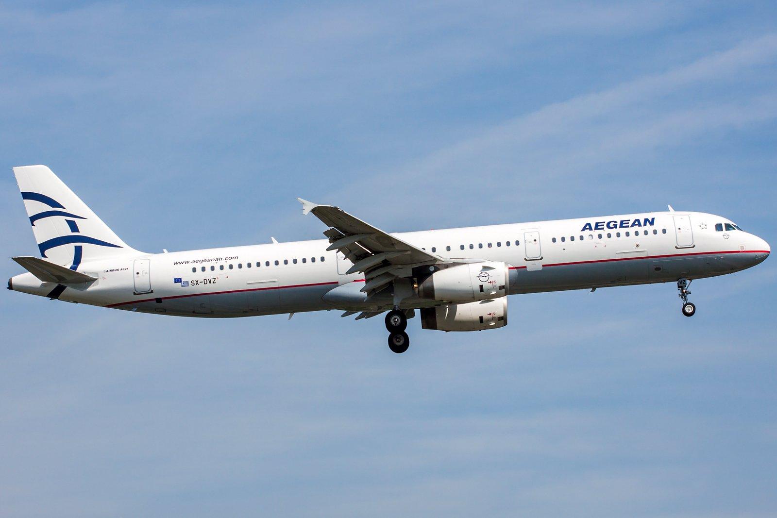 Aegean Airlines Airbus A321-231 SX-DVZ