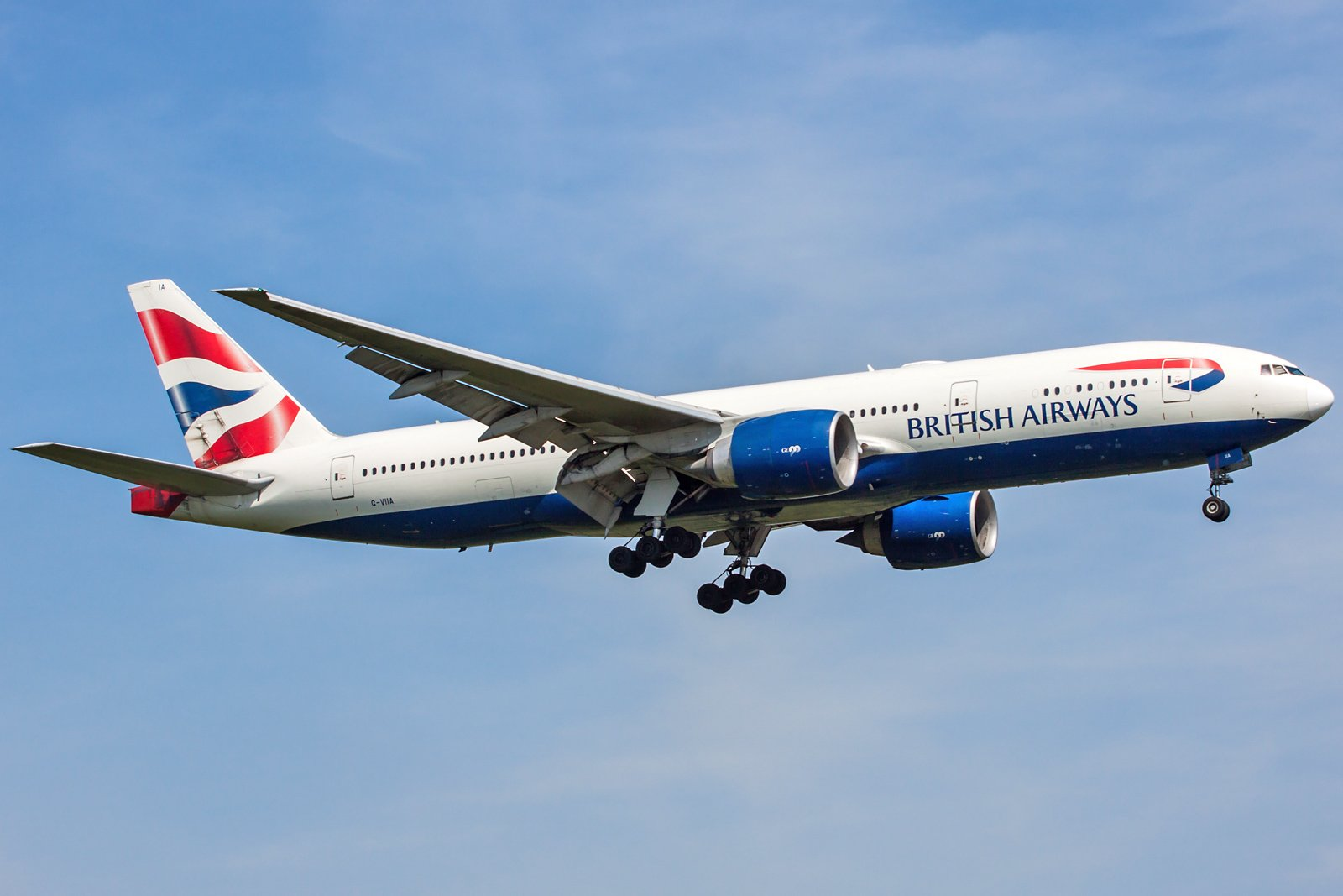 British Airways Boeing 777-236(ER) G-VIIA