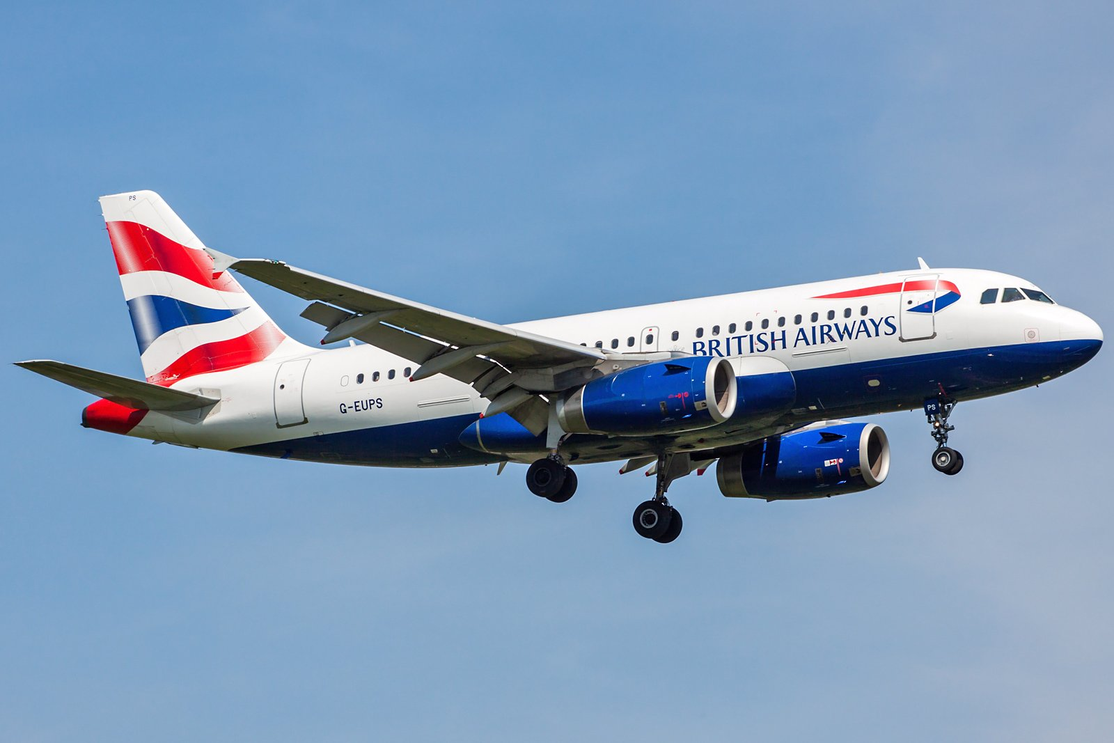 British Airways Airbus A319-131 G-EUPS