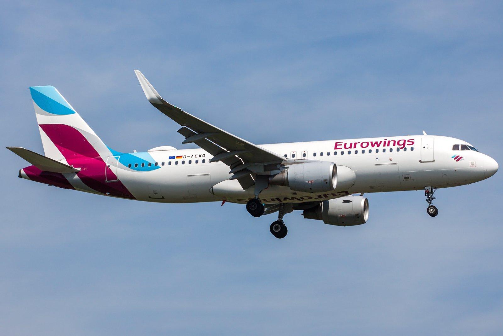 Eurowings Airbus A320-214(WL) D-AEWO