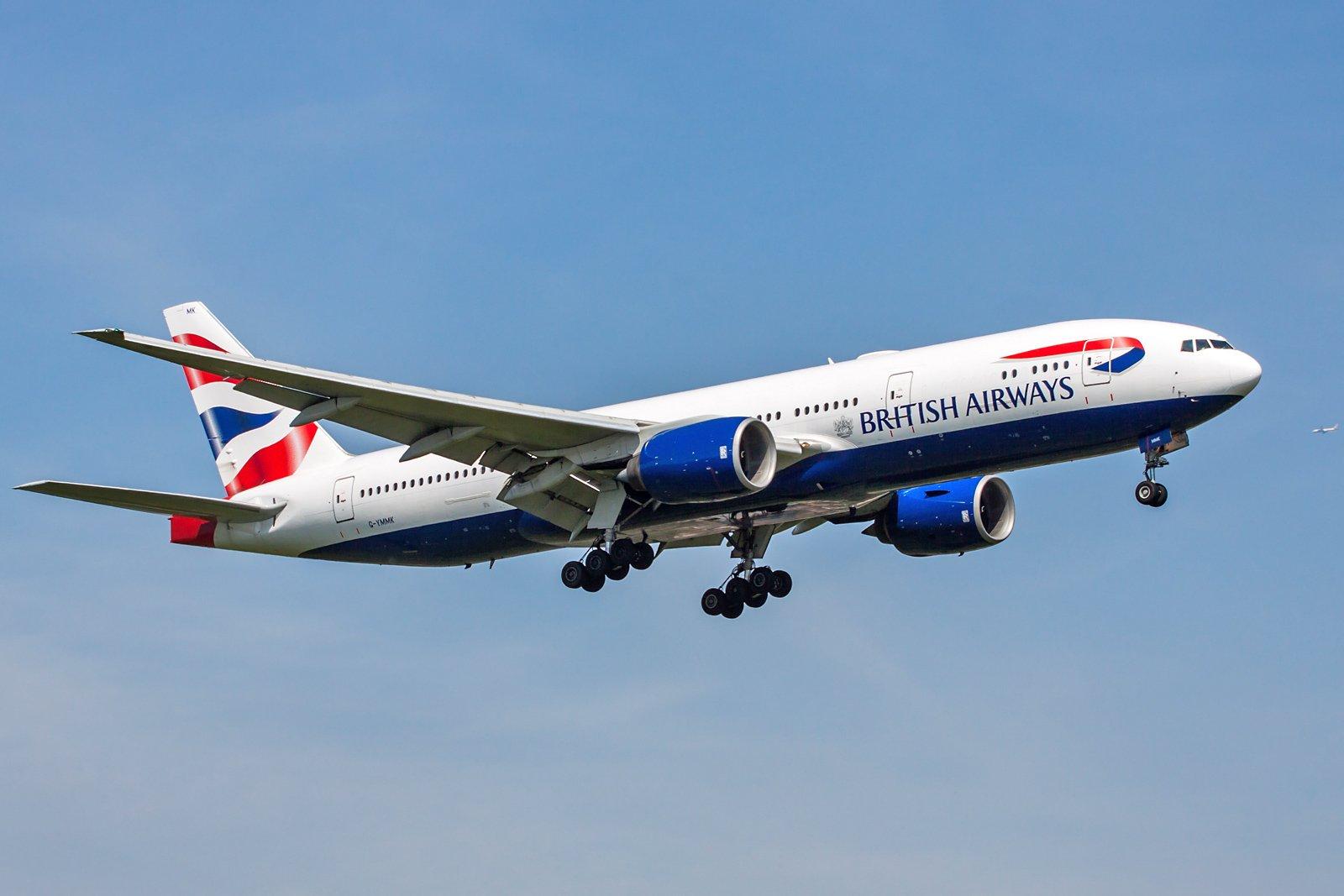 British Airways Boeing 777-236(ER) G-YMMK