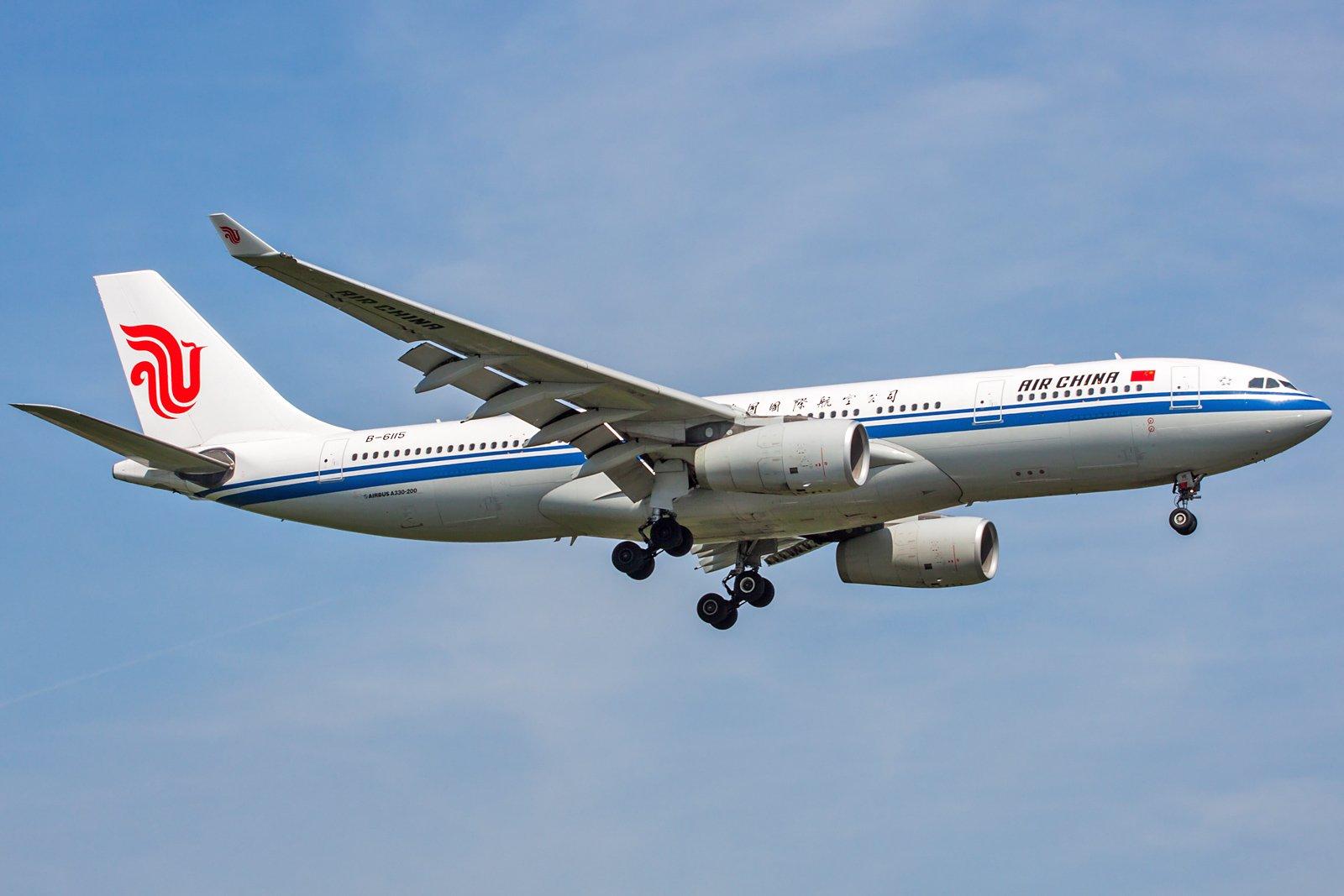 Air China Airbus A330-243 B-6115