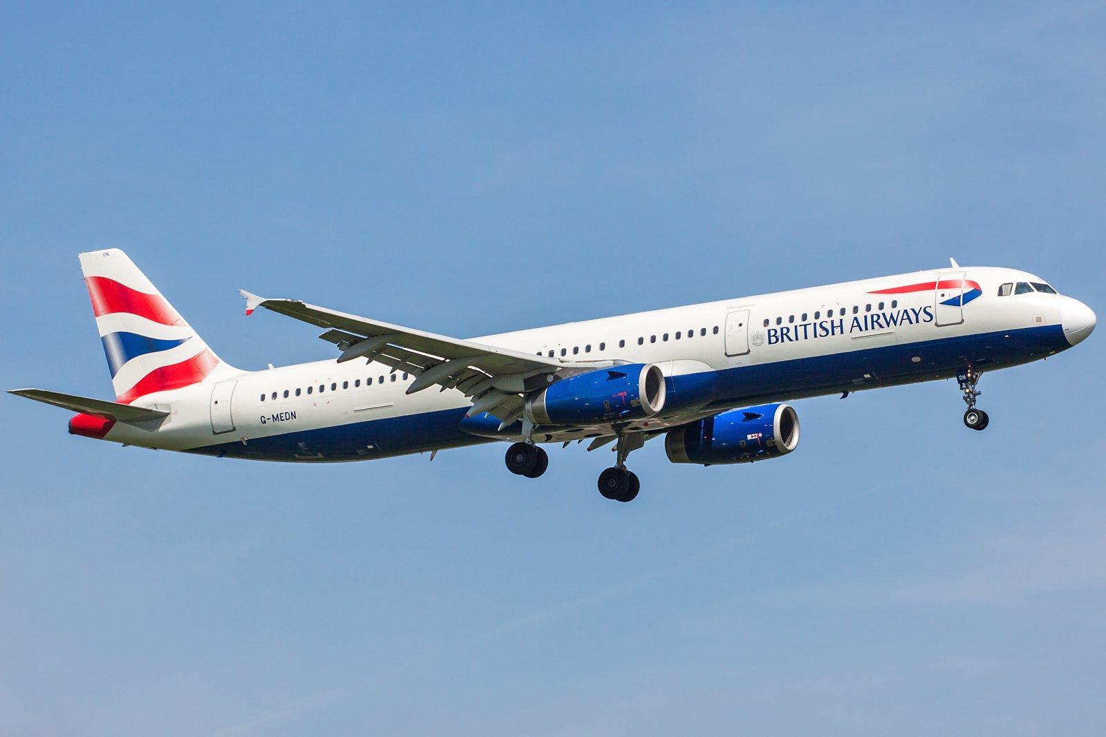 British Airways Airbus A321-231 G-MEDN